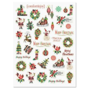 Fancy & Festive Stickers - BOGO