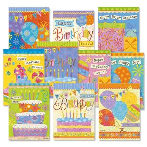 Banner Day Birthday Cards Value Pack