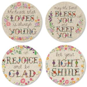 Expressions of Faith® Handstitched-Style Seals