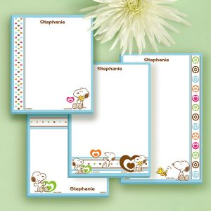 Love PEANUTS® Notepad Set