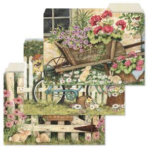 Spring Garden File Folders