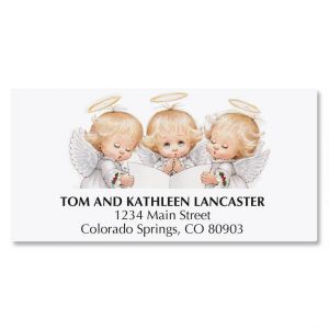 Angel Trio Deluxe Address Labels