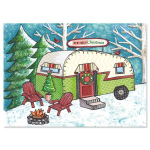 Homeward Bound Nonpersonalized Christmas Cards - Set of 18