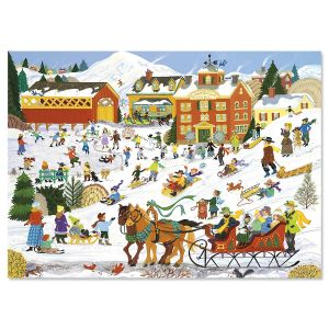 Winter Sports Christmas Cards