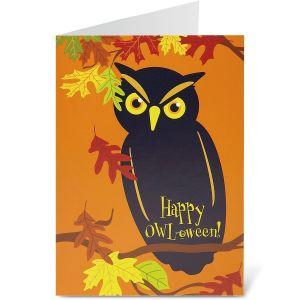 Halloween Owl Halloween Cards