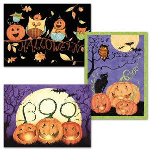 Ghoulish Night Halloween Cards