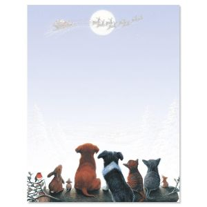Christmas Dreams Christmas Letter Papers