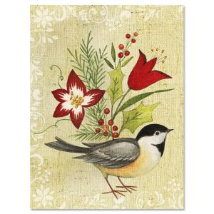 Holiday Bird Note Cards
