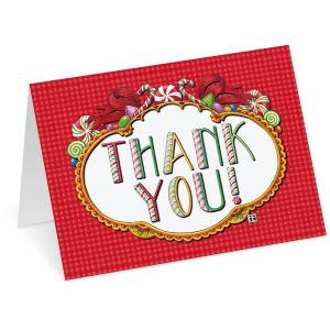 Mary Engelbreit® Christmas Thank You Note Cards