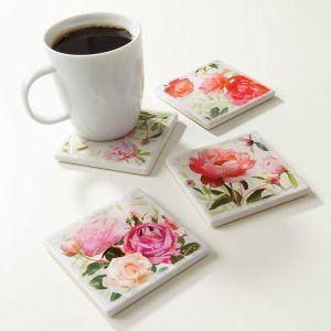 Flower Studies Coasters