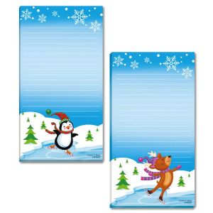 Winter Wonderland Lined Notepads