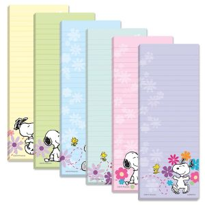 Snoopy™ Magnetic Shopping List Pads