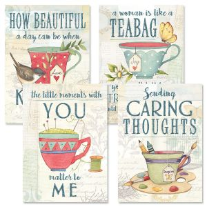 Tea Time Friendship Cards and Seals
