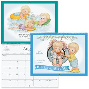 2018 Blessed Are Ye' Wall Calendar