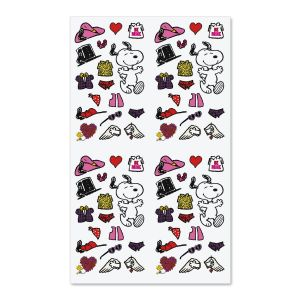 Snoopy™ Dress Up Valentine Stickers