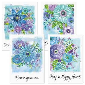 Happy Heart Thinking of You Cards and Seals