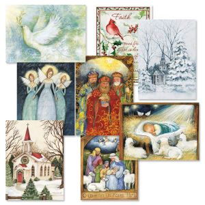 Faith Christmas Cards Value Pack