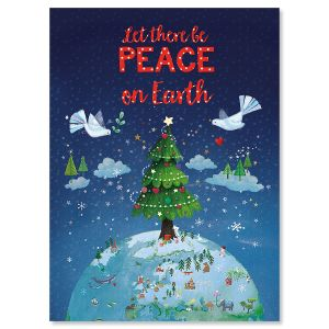 Let There Be Peace Christmas Cards