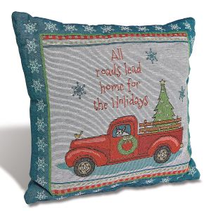 Holiday Highway Pillow