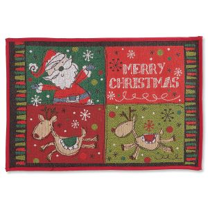 Christmas Icons Floor Mat