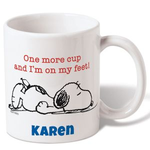 Personalized Snoopy™ Coffee Mug