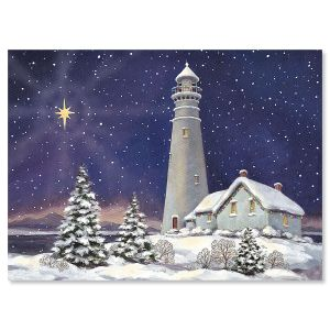 December Light Religious Christmas Cards