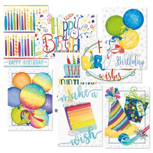 Make a Wish Birthday Greeting Cards Value Pack