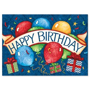 Banner Birthday Cards and Seals