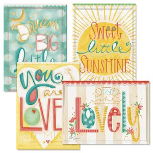 Baby Love Cards and Seals