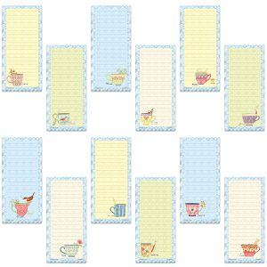 Teacups Shopping List Pads