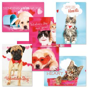 Valentines Day Pets Cards