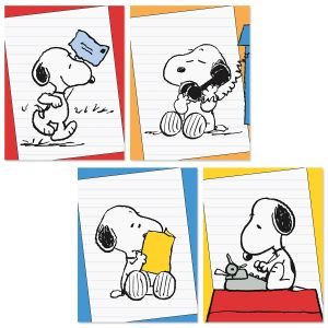 PEANUTS® Brights Note Cards - BOGO
