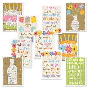 Sandra Magsamen Birthday Card Value Pack