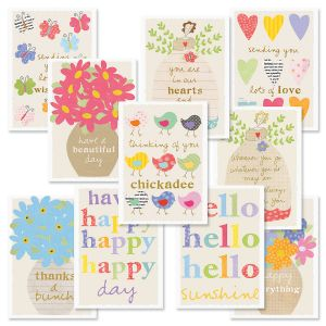 Sandra Magsamen Thinking Of You Greeting Cards Value Pack