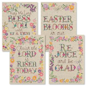 Stitched Easter Cards