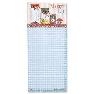 Magnetic Market List Pads