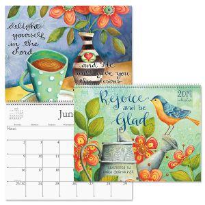 2019 Rejoice Wall Calendar