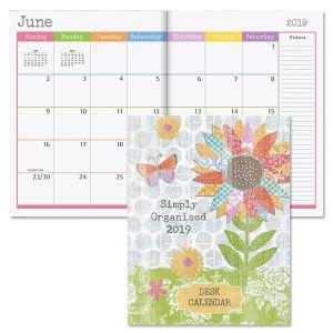 2019 Collage Style Desk Calendar