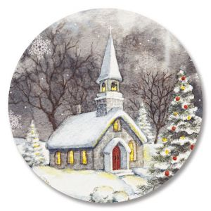 Snowy Church Seals