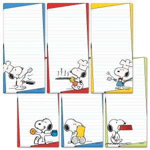 PEANUTS® Brights Shopping List Pads