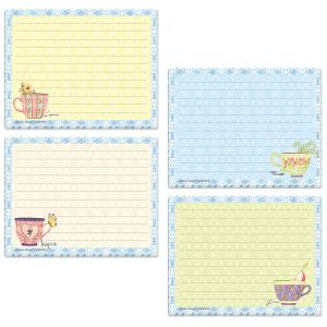 Teacup Lined Jotter Pads