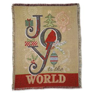 Joy To The World Throw