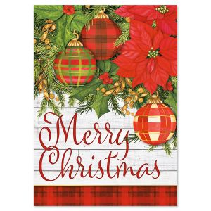 Plaid Christmas Cards