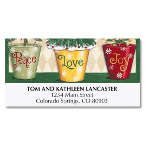 Love and Joy Deluxe Address Labels