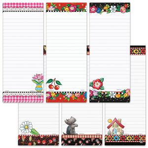 Mary Engelbreit Magnetic Lined Shopping List Pads