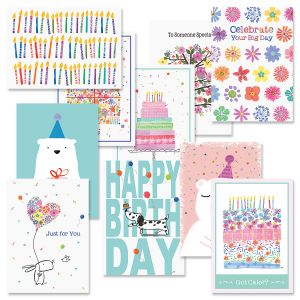 Simple Wishes Birthday Card Value Pack
