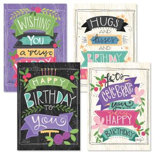 Choose Happy Birthday Cards and Seals
