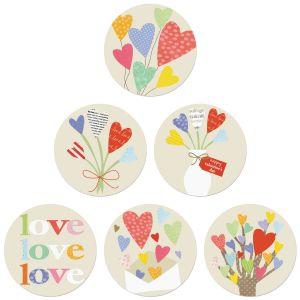 Share Love Seals (6 Designs)
