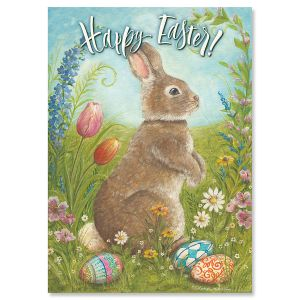 Happy Easter Bunny Easter Cards