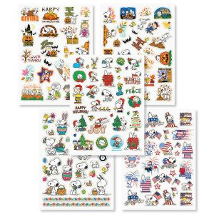 PEANUTS® Seasonal Sticker Value Pack